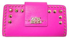 Juicy Couture Tough Girl Continental Clutch Wallet, Pink Cerise Juicy Couture. $88.00. Save 10% Off!