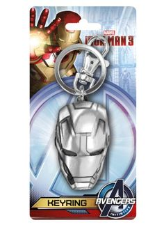 Marvel Iron Man 3 Head Pewter Key Ring Marvel 8b718d86f750
