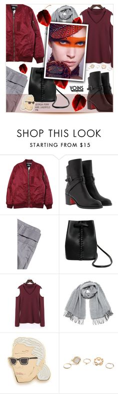 """""""Yoins 5/I"""" by sweetsely ❤ liked on Polyvore featuring Stussy, Christian Louboutin, Vero Moda, Georgia Perry, GUESS, polyvoreeditorial, yoins, yoinscollection and loveyoins"""
