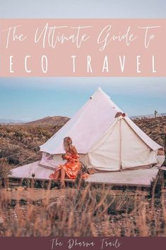 Sustainable travel camping eco friendly green tips