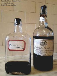 Prohibition Era Moonshine found on site.  Pre-prohibition wine from Hopper, McGaw & Co. in Baltimore