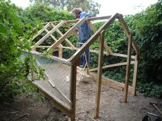Home-made low cost greenhouse designed to use free untreated pallet wood. Or, how to build a viable, safe, year-round food production system...