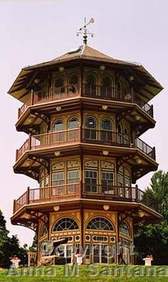 Patterson Park Pagoda #Baltimore #Maryland #parks