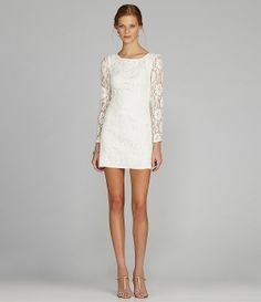 MM Couture by Miss Me Open-Back Lace Dress   Dillards.com
