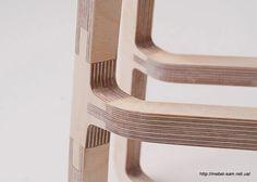 Способ стыковки фанерных деталей стула