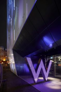 W hotel, London... I would like to go there ;p