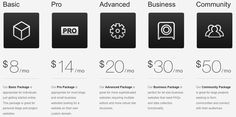 Web Design - Pricing Tables
