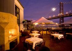A-M-A-Z-I-N-G view, period. Epic Roasthouse - San Francisco, CA...we are spending our last night of our romantic wine country trip in San Francisco and we have dinner reservations here...CANNOT WAIT!