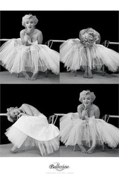 Marilyn Monroe Poster - Ballerina Sequence. Milton Greene Photo. S)