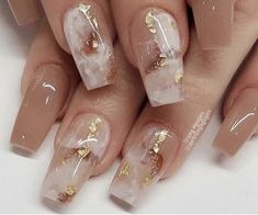 Image in Nails💅🏻/ أظافر✨ collection by YAZ👑 on We Heart It Simple Acrylic Nails, Cute Acrylic Nail Designs, Fall Acrylic Nails, Fall Nail Designs, Glam Nails, Fancy Nails, Nail Swag, We Heart It Nails, Fire Nails