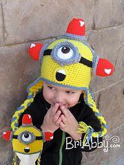 Ravelry: Crochet Minion Hat Pattern pattern by Joni Memmott / BriAbby