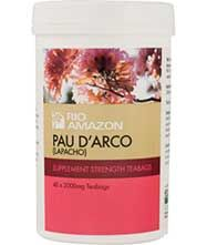 Buy Rio Pau D Arco Tea 40 Bag(s) For £5.99 - Discount Supplements ™