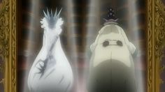 "D. Gray-man - parallels between clown-form of Allen and Millennium Earl (""Adam"")"