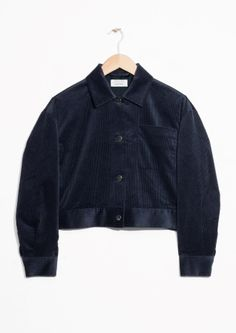 & Other Stories | Cropped Corduroy Jacket