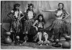 Hawaiians: Hula Dancers and Musicians