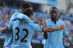 Os jogadores do Manchester City estavam juntos a assistir ao sorteio dos jogos a contar para a Champions