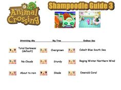 Animal Crossing New Leaf Eye Guide