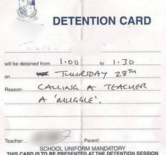 Detention Slips- Ranging from the Ridiculous, Absurd, and downright hilarious. But really- since when is calling a teacher a Muggle disrespectful? Harry Potter Funny Tumblr, Harry Potter Love, James Potter, My Tumblr, Tumblr Funny, Funny Memes, Funny Quotes, Text Quotes, Funny Tweets
