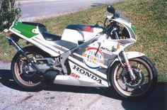 1989 MC18 Honda NSR250SP in Terra Racing livery