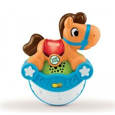 Encourages babies to crawl and move around while also encouraging motor skills, cause and effect, and tangible play.