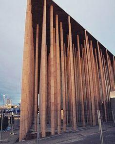 Zaragoza Expo Spanish Pavilion #woodwork #architecture #zaragoza by midcenturyfurniture
