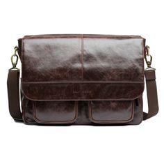 Kelly Moore Boy Brown | Stylische Kelly Moore DSLR Kameratasche, Laptop Tasche für Männer | bei PhotoQueen