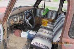 1954 Chevy Truck interior