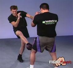 Oblique Kick: Strike the knee