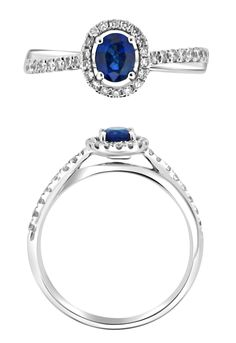Halo Engagement Rings, Sapphire, Wedding Ideas, Vintage, Jewelry, Jewlery, Jewerly, Halo Setting Engagement Rings, Schmuck