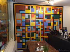 Mural at Maccheroni Restaurant, Amsterdam Oost