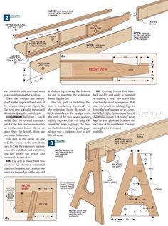 #2190 Folding Miter Saw Stand Plans - Miter Saw
