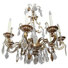 #1900s #French #Bronze #Bagues #Chandelier