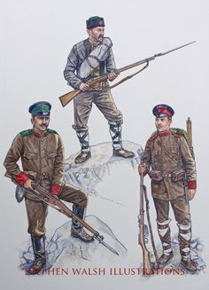 The Bulgarian Army - Armies of the Balkan Wars 1912-13 - Osprey Art