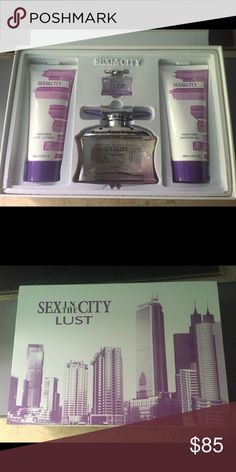 Perfumes Sex in the City perfume set. Brand New and Never been used. Other