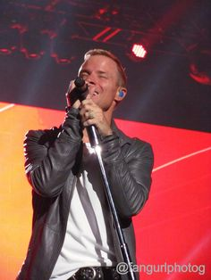 Brian Littrell. IAWLT Tour, Vancouver.