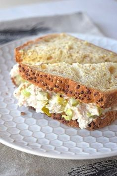 Tuna Fish sandwiches are an iconic childhood food. This recipe brings back so many memories and is a total comfort food. It's got the perfect ratio of mayo and pickles and is great for filling your favorite sandwich bread or topping a green salad. Tuna Fish Sandwich Recipe, Tuna Fish Recipes, Sandwich Fillings, Salad Sandwich, Seafood Recipes, Cooking Recipes, Cooking Fish, Best Tuna Sandwich, Sandwich Buffet