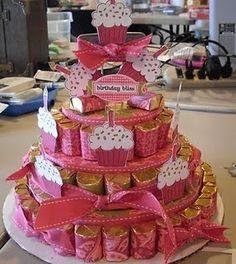 Hershey Nuggets cake