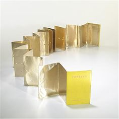 Lucio Fontana Book object early sixities