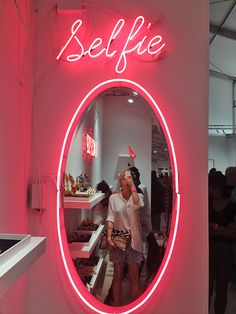 Selfie opp at Scope art show, Miami Beach Art Basel Beauty Room Decor, Beauty Salon Decor, Beauty Salon Interior, Makeup Studio Decor, Nail Salon Decor, Beauty Salon Design, Makeup Room Decor, Beauty Studio, Salon Interior Design