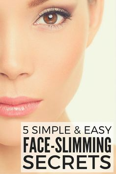 If you carry your weight in your face and/or want to learn how to make your face look thinner without giving up your favorite foods or spending hours at the gym, you've come to the right place!. We're sharing 5 simple and easy beauty tricks to make your face look slimmer with a combination of the right makeup for your eyes, hairstyle, highlights, accessories, etc. These tips have worked wonders for me, especially when it comes to making me look skinnier in pictures!