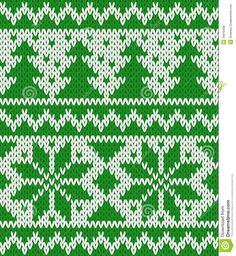 Knitted Seamless Pattern - Download From Over 28 Million High Quality Stock Photos, Images, Vectors. Sign up for FREE today. Image: 35815498