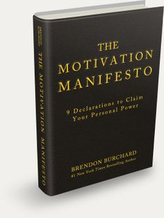 The Motivation Manifesto is a poetic and powerful call to reclaim our lives and find our own personal freedom. It's a triumphant work that transcends the title, lifting the reader from mere motivation