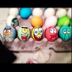 Sponge bob eggs