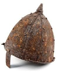 Composite nasal helmet, probably Eastern European and Probably 11th century.