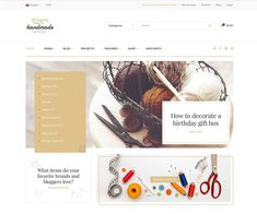 Ecommerce theme for handmade shops - webcreate. Gift Box Birthday, Healthy People 2020 Goals, Handmade Shop, Website Template, Wordpress Theme, Ecommerce, Templates, Cards, Shops