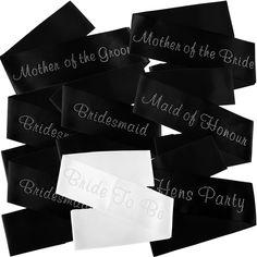 Diamond Design Bride To Be Sash Satin Sash for Wedding Bridal Shower Decor HA
