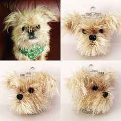 Brussel Griffon. I get to recreate the cutest dogs in yarn!!
