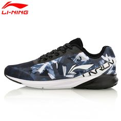 Li-Ning Men Colorful Cushion Running Shoes Breathable Wearable LiNing Sports Shoes Sneakers ARHM039 XYP567 #Affiliate