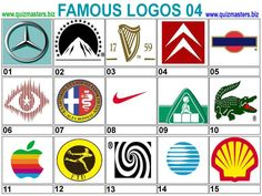 Famous Logos and Names