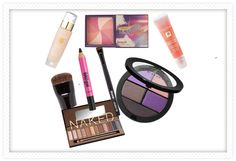How to wear purple shadow #fall #beauty